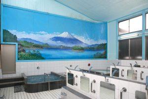 稲荷湯浴場壁画