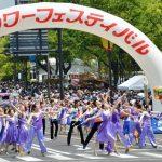 フラワーフェスティバルパレード画像